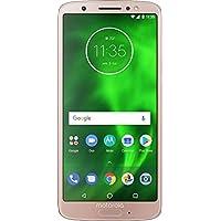 Moto G6 – 32 GB – Unlocked (AT&T/Sprint/T-Mobile/Verizon) – Oyster Blush - (U.S. Warranty)