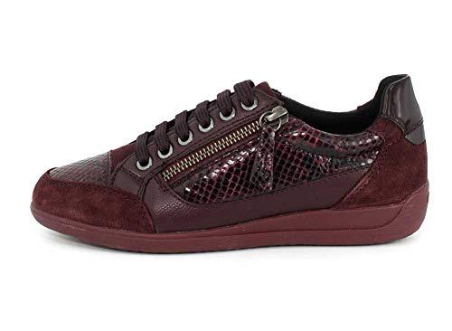 C7b7j Basses D bordeaux Rouge Burgundy A Sneakers Femme Geox Myria dk xIqdIv
