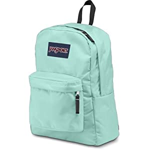 JanSport Superbreak Backpack (Aqua Dash)