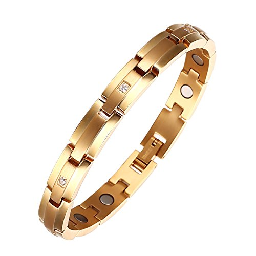 Moocare Adjustable Magnetic Titanium Bracelet