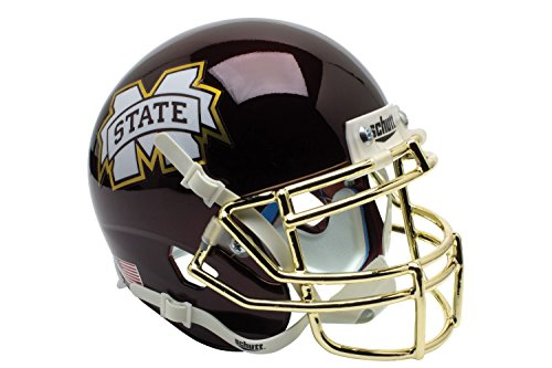 NCAA Mississippi State Bulldogs Egg Bowl Replica Helmet, One Size