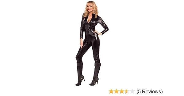 2f42648ee4b Amazon.com  Forum Novelties Women s Sleek and Sexy Costume Bodysuit   Clothing