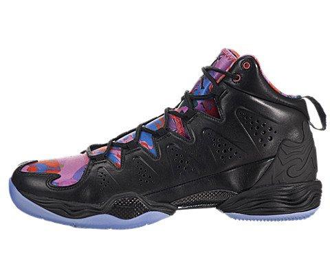 Nike Air Jordan Melo - Nike air Jordan MELO M10 YOTH Mens hi top Basketball Trainers 649352 Sneakers Shoes (UK 8.5 US 9.5 EU 43, Black Black deep Royal Blue red Volt 040)