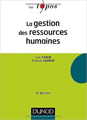 Lire un La gestion des ressources humaines - 4e éd pdf