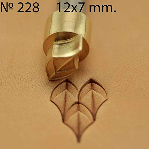 Leather Stamp Tool Dragon Scale Stamping Working Carving Punches Tools Craft Saddle Brass #228