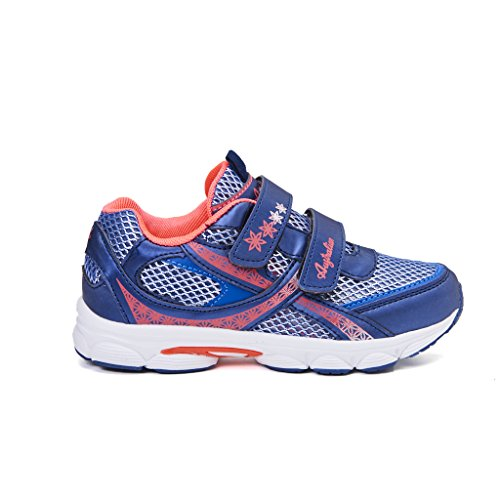 sneakers bimba australian strappo nylon blu