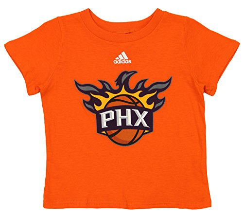 - adidas NBA Infant's Phoenix Suns Team Logo Short Sleeve Tee, Orange 18 M