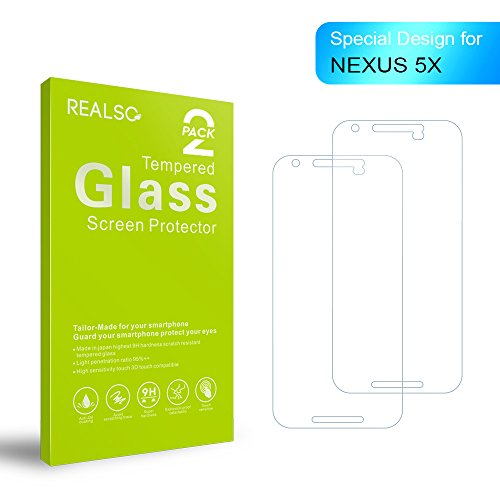 2 x Tempered Glass Screen Protector for LG Nexus 5X - 3