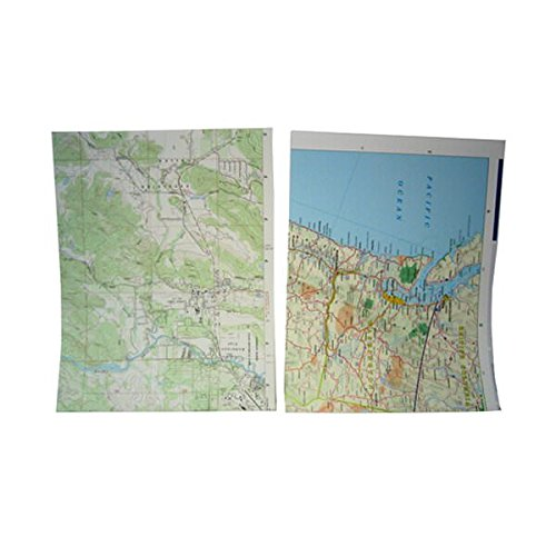 JAM PAPER Colorful 24lb Map Design Paper - 8.5 x 11 - Map Design - 25 Sheets/Pack]()