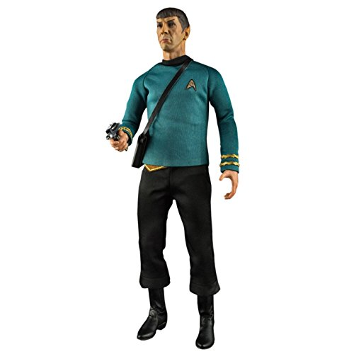 (QMx Star Trek: TOS Spock 1:6 Scale Articulated Figure)