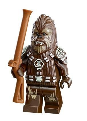 LEGO Star Wars Minifigure Chief Tarfful Wookie AT-AP (75043) by LEGO (Star Wars Legos 75046)