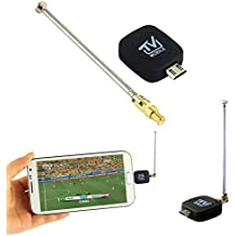Wonderful Mini Micro USB DVB-T tuner TV receiver Dongle/Antenna DVB T HD Digital Mobile TV HDTV Satellite Receiver for Android Phone