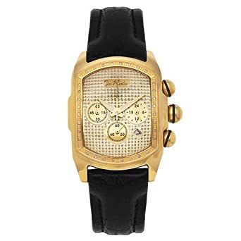 Joe Rodeo Diamant Herren Uhr - KING gold 0.36 ctw