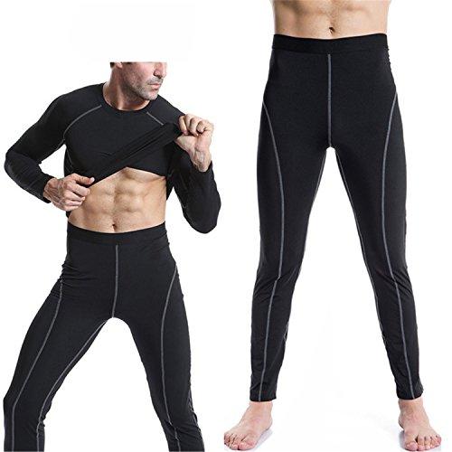 MZjJPN Men High Stretch Tight Long Low Waist Men's Legging Compression Sporting Pants Fascinating