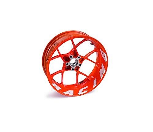 - NEW KTM RIM DECALS STICKER KIT WHITE RACING 1290 SUPER DUKE R 2014 6130999910028