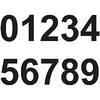 Merriway BH07148 - Números adhesivos (vinilo, 75 mm