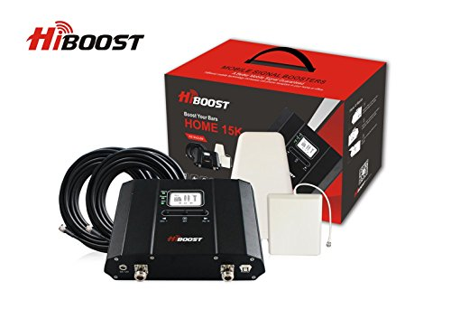Feature Phone Mobile Phone - HiBoost 15K LCD - Cell Phone Signal Booster - Covers 15,000 Sq. Ft.