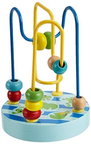 (Manhattan Toy Wobble-A-Round Beads, Blue)