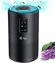 Air Purifier, YIJU Air Purifiers for Home Large Room with H13 True HEPA Filter for Removing 99.97% Smoke Polle
