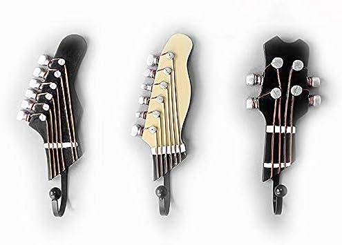 OFKPO 3 Pcs Ganchos con Formas de clavijero de Guitarra y ...
