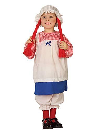 Kid's Rag Doll Costume