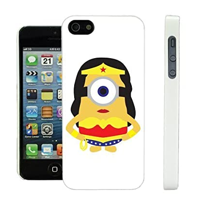Amazon.com: COVER FOR APPLE IPHONE 5 & 5S MINIONS MARVEL DC ...