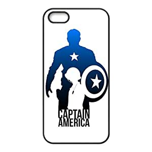 Brave Captain America Cell Phone Case for iPhone 5S