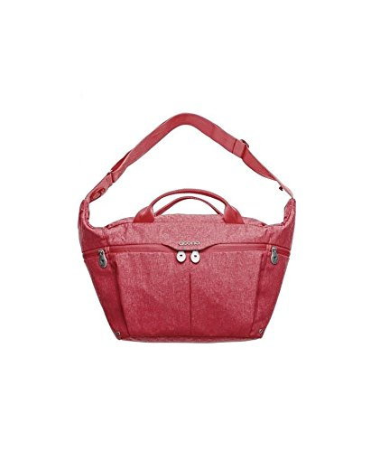 Simple Parenting - Bolso para pañales para Coche Doona All Day Love rojo