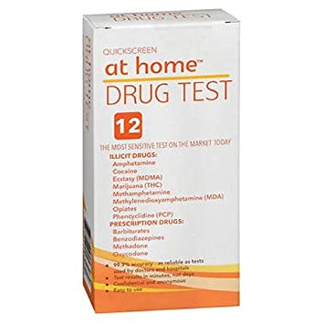 At Home Drug Test >> Amazon Com At Home 12 Panel Drug Test 1 Ea Health Personal Care