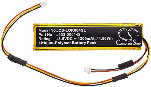 1200mAh Replacement Battery for Logitech Craft Logitech Y-R0064