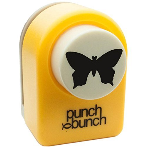 Punch Bunch 2/Butterfly Medium Punch Approx. 1 Inches (Punch Medium Butterfly)