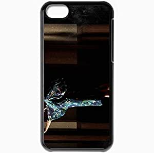 Personalized iPhone 5C Cell phone Case/Cover Skin American Horror Story Jessica Lange Constance Langdon Movies Black