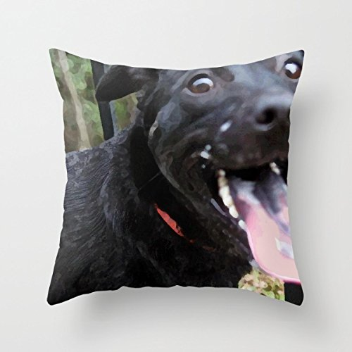 The Dogs Pillowcover,18 X 18 Inch / 45 By 45 Cm For Arbor Day, Gift For Boy Friend, Car Seat, Lincoln's Birthday, April Fool's Day, Independence Day, Chair, Sofa, Couch, (both Sides Printed)