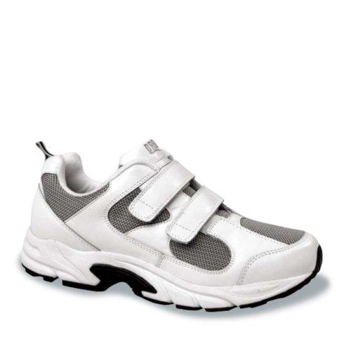 Drew Sko Mens Blixt Sneakers Vit / Grå Combo