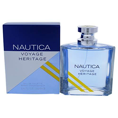 Nautica Nautica voyage heritage by nautica for men 3.4 Ounce eau de toilette spray, 3.4 Fl Ounce