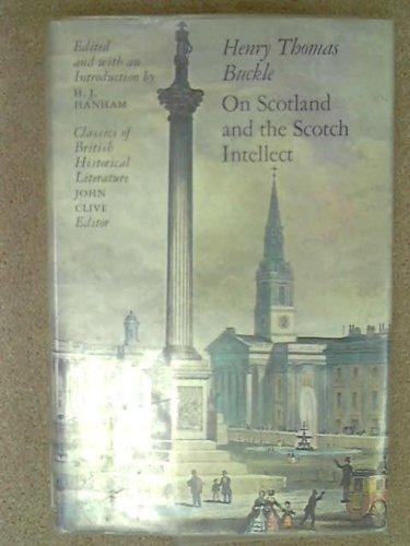 (On Scotland and the Scotch intellect (Classics of British historical literature))