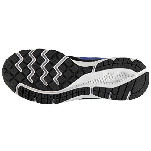 NIKE DOWNSHIFTER Chaussures de Course pour Homme Noir/Bleu Sport Fitness Formateurs Sneakers