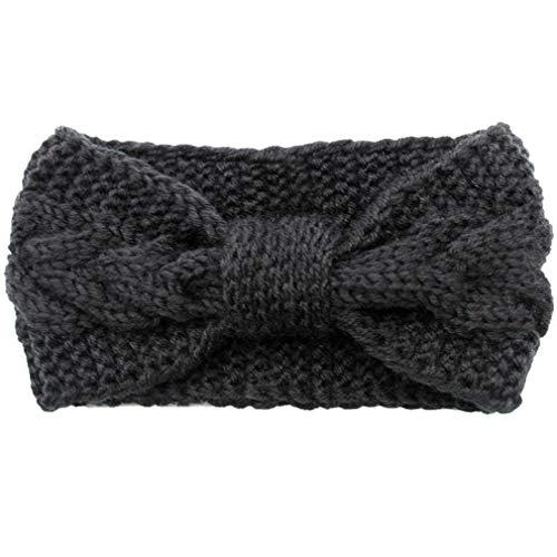 (Women's Winter Knit Crochet Headbands Head Warmer Wrap Earmuffs Fashion Cute Twist Hair Band)