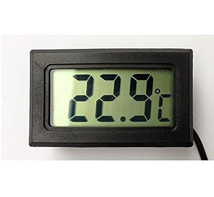 Elitech Termómetro digital, adecuado para Acuario, congelador, sauna, en casa y en