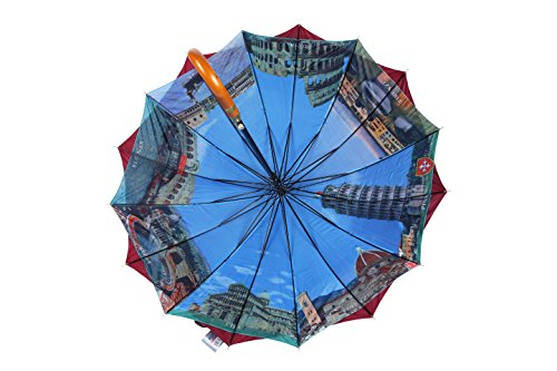 po-campo-rain-street-wood-sticks-umbrella-maroon-one-size