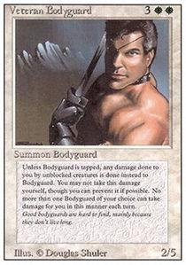 Magic: the Gathering - Veteran Bodyguard - Revised ()