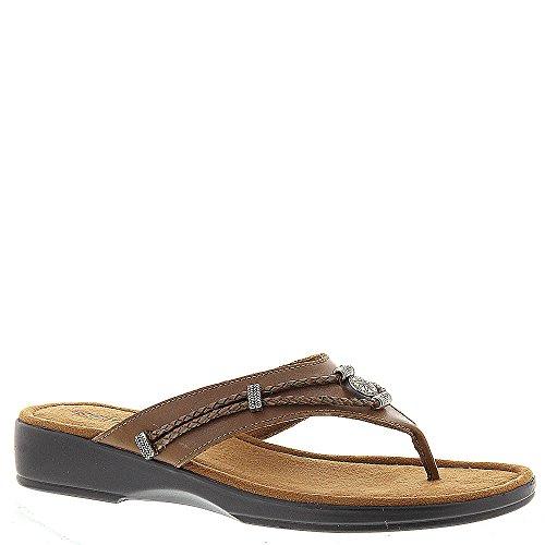 (Minnetonka Silverthorne Thong Women's Sandal 8 B(M) US Nutmeg )