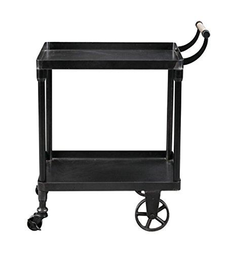Burnham Home 18109 Katrina bar Cart/Serving Cart, Black