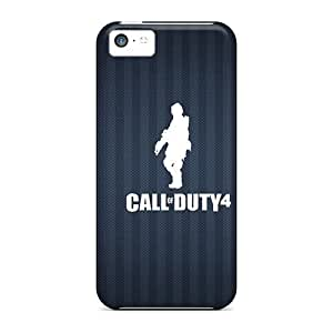 Personality customization First-class Case Cover For Iphone 5c Dual Protection Cover Cod4 By CUY Cases