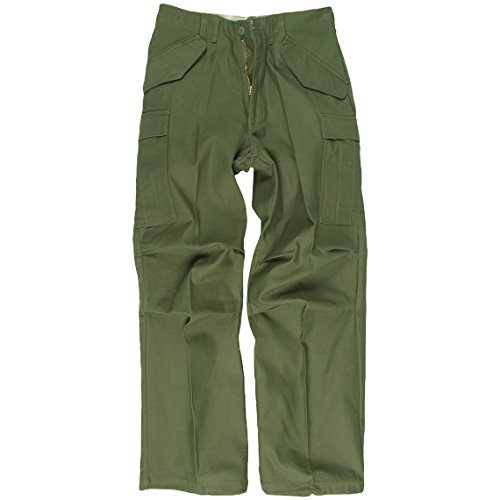 Mil-Tec M65 Trousers Olive size L for sale  Delivered anywhere in USA