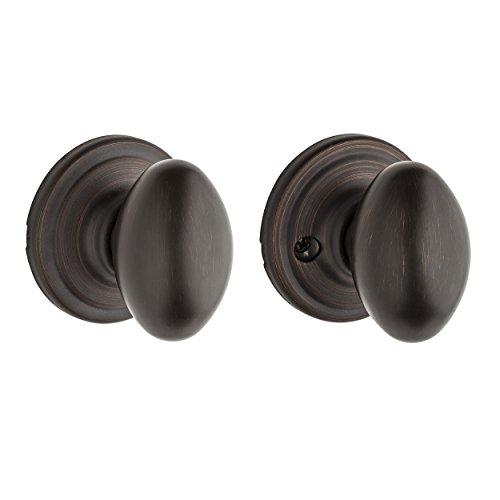 Kwikset Corporation 97200-836 Kwikset Laurel Hall/Closet Knob in Venetian Bronze from Kwikset