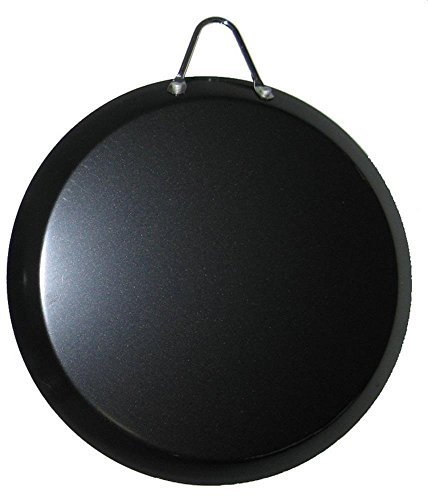 Cookware & Kitchen Tools 13 inch Large Round Comal Mexican Griddle Fry Pan Carbon Steel Non-Stick