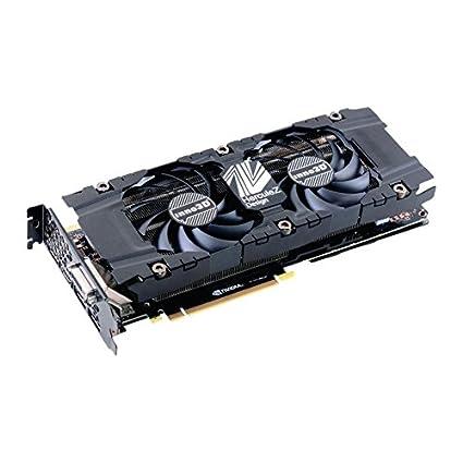Inno3D Nvidia Geforce GTX 1080 8 GB Doble x2 Tarjeta gráfica ...