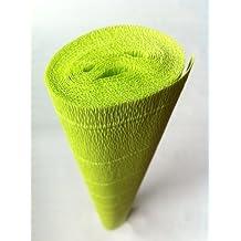 Italian Crepe Paper roll 180 gram - 558 LIMELIGHT by Carte Fini