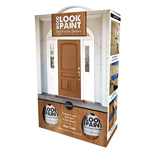 Giani Wood Look Paint Kit for for Front & Interior Doors (Red Oak)